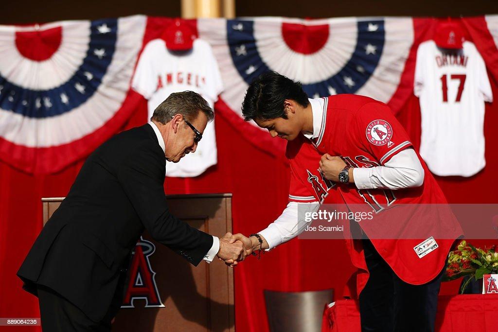 Los Angeles Angels of Anaheim Introduce Shohei Ohtani