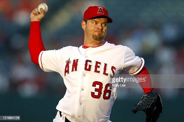Los Angeles Angels of Anaheim starter Paul Byrd pitched six innings to pick up an 111 win over the Washington Nationals at Angel Stadium in Anaheim...