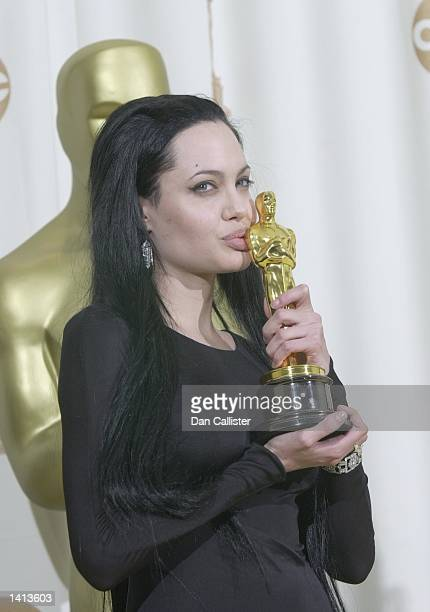 Los Angeles CA Angelina Jolie at the 72nd Annual Academy Awards Dan Callister Online USA Inc