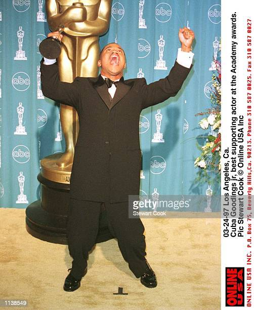 Los Angeles, Ca Cuba Gooding jr at the Academy awards