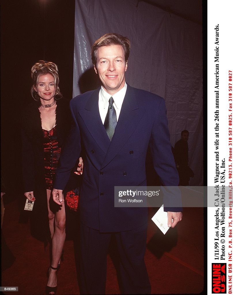 Jack Wagner Wife Ideal 1/11/99 los angeles, ca jack wagner and wife at the 26th annual