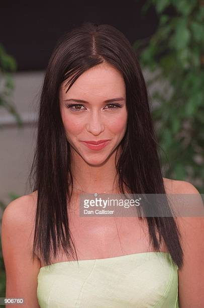 5/25/99 Los Angeles CA Jennifer Love Hewitt arrives at the 5th Annual Blockbuster Awards held at the Shrine Auditorium Los Angeles Picture by DAN...