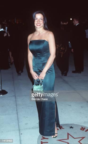 Los Angeles CA Jerry Seinfeld''s ex Shoshana Lowstein at the Vanity Fair postOscars party Photo Brenda Chase Online USA