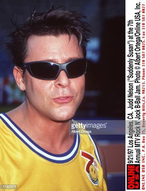 Los Angeles CA Judd Nelson at the 7th Annual MTV Rock N'' Jock BBall Jam