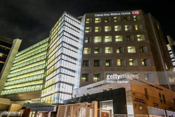 Los Angeles, CA, Monday, December 7, 2020 - Cedars-Sinai Hospital.
