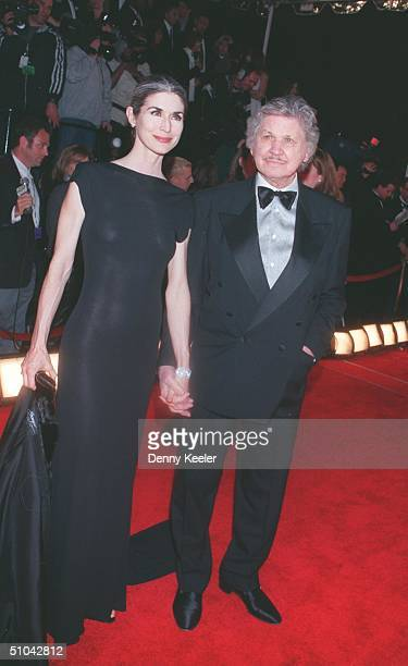 Los Angeles, Ca. Newlyweds, Charles Bronson And Kim Weeks At The 1999 American Comedy Awards, Held At The Shrine Auditorium.