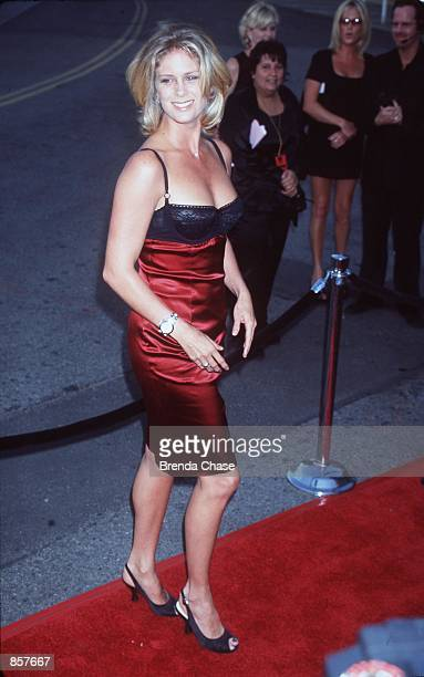 Los Angeles CA Rachel Hunter at the 11th annual AIDS project Los Angeles Jacket Jackson was honored at the gala