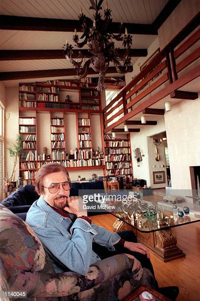 Los Angeles CA Radio/voice personality Garry Owen in his living room Photo by David McNew Online USA Inc
