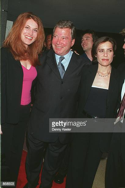 William Shatner Daughter Stock Photos and Pictures   Getty Images