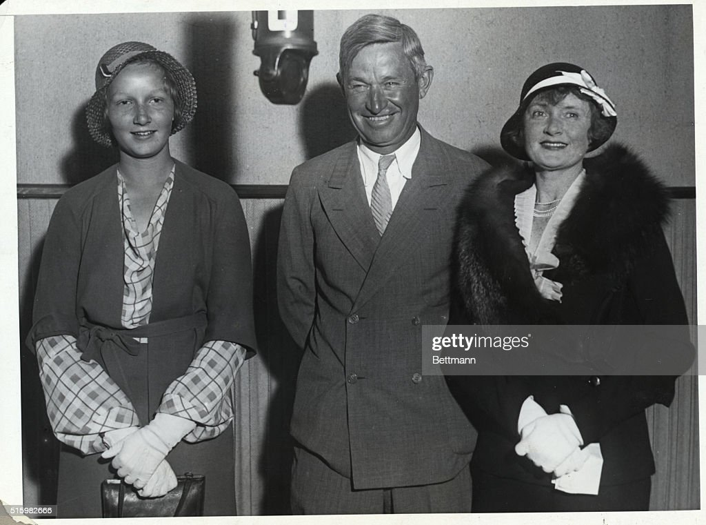 Patricia Ziegfeld and Will Rogers and Billie Burke at K H J