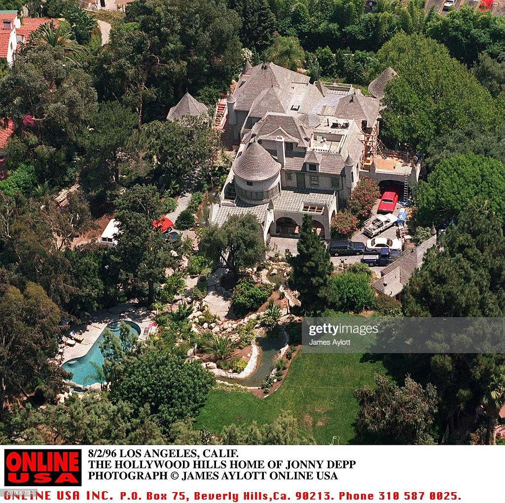 Hollywood Home Of Actor Jonny Depp : Nachrichtenfoto