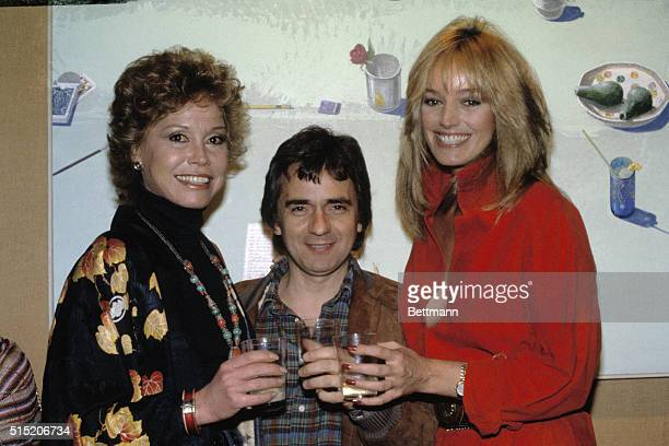 Los Angeles California It was a big week for Dudley Moore He and costar Mary Tyler Moore joined in a toast with Dudley's date Susan Anton at last...