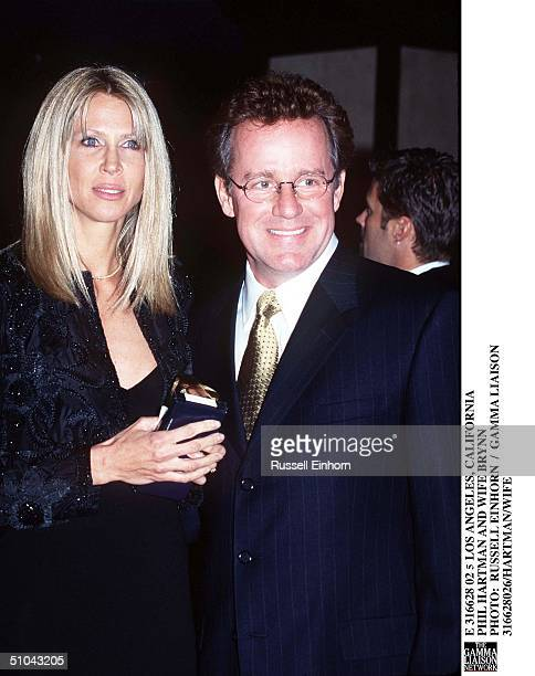 Los Angeles California Phil Hartman And Wife Brynn