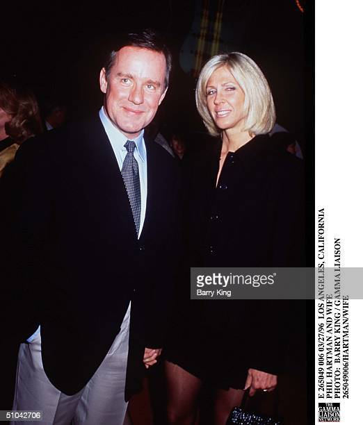 Los Angeles California Phil Hartman And Wife