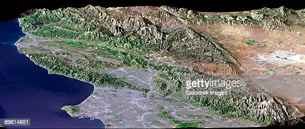 los angeles, california - san andreas fault stock pictures, royalty-free photos & images