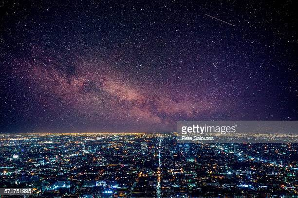 los angeles, california, usa - illuminate stock photos and pictures