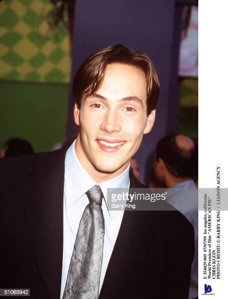Los Angeles California World Premiere Of Film American Pie Chris Klein