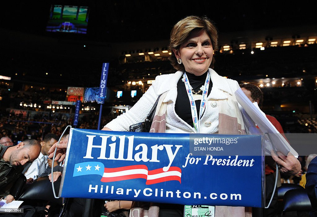 Los Angeles celebrity lawyer and Hillary : News Photo