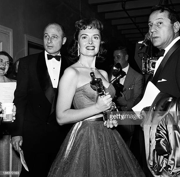 AWARDS Los Angeles Ceremony Air Date Pictured Best Supporting Actress winner Donna Reed for 'From Here to Eternity' at the 26th Annual Academy Awards...