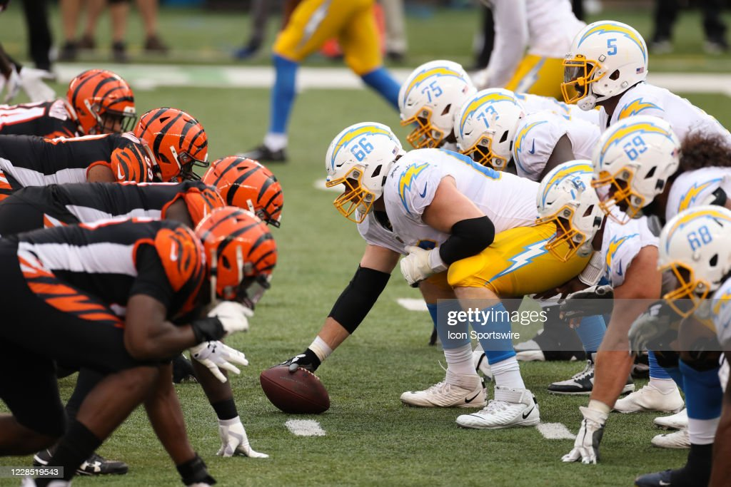 NFL: SEP 13 Chargers at Bengals : News Photo