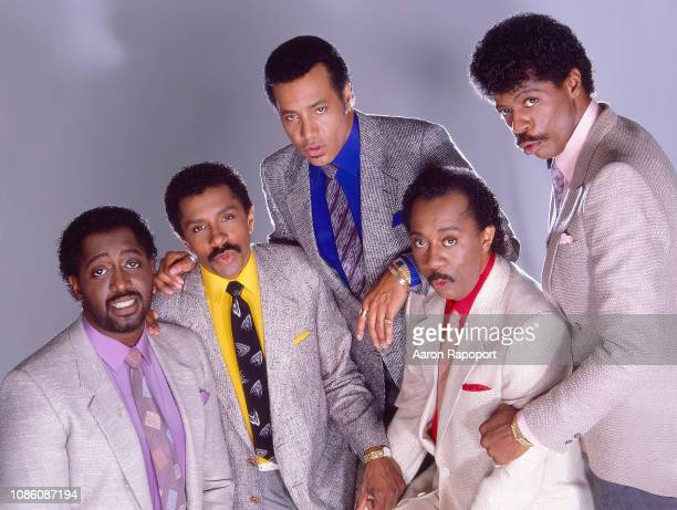 Los Angeles CIRCA 1984 Members of The Temptations pose for a portrait circa 1984 in Los Angeles California