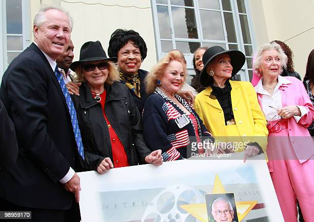 Los Angeles city council member Tom LaBonge actress Angie Dickinson Congresswoman Diane E Watson singer/songwriter Carol Connors and actresses Anne...