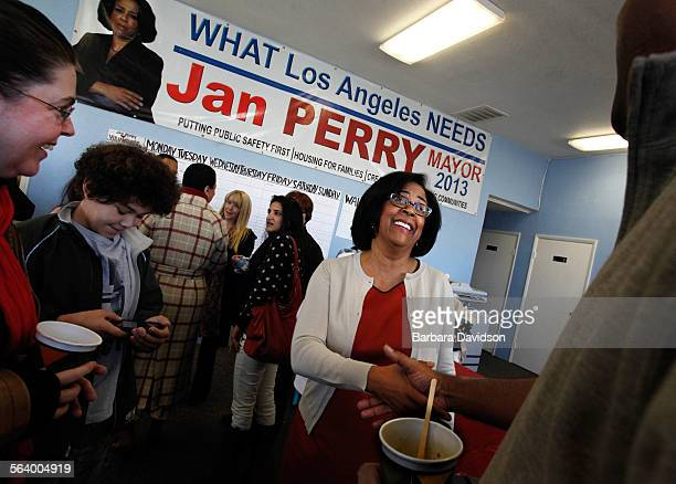 Los Angeles City Councilwoman Jan Perry struggling to remain relevant in a mayor's race where she is being overshadowed in both fundraising and...