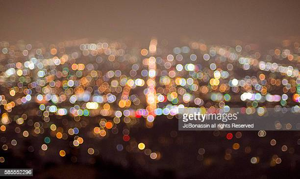 los angeles city - jcbonassin stock pictures, royalty-free photos & images