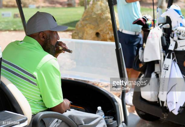 Los Angeles Clippers Assistant Coach Mike Woodson attends the Coach Woodson Las Vegas Invitational at Cascata Golf Club on July 9 2017 in Boulder...