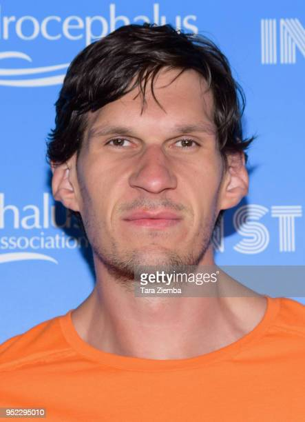 Los Angeles Clippers basketball player Boban Marjanovic attends 'In Stitches A Night Of Laughs' comedy event benefiting the Hydrocephalus Association...