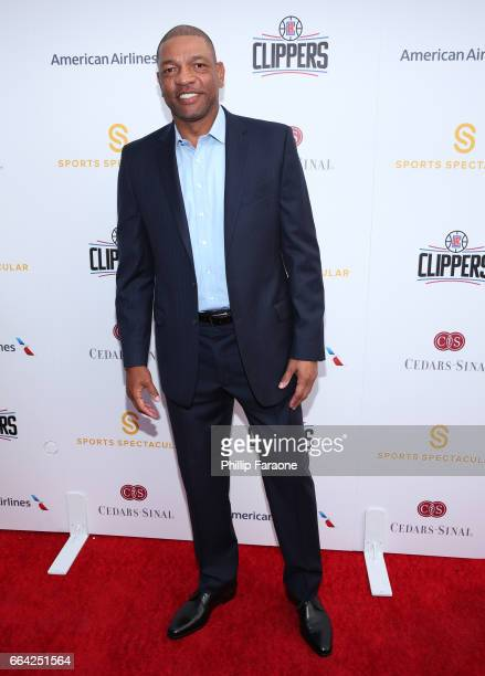 Los Angeles Clippers Head Coach Doc Rivers attends 32nd Annual CedarsSinai Sports Spectacular at W Los Angeles Westwood on April 3 2017 in Los...
