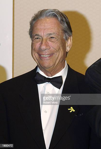 Los Angeles Clippers Owner Honorary Event Chairman Donald T Sterling attends the 2nd Annual California Gold Star Awards dinner gala and auction at...