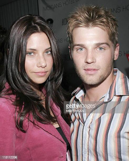 Los Angeles Confidential 4th Annual Academy Awards Party in Hollywood United States on March 02 2006 Courtney and Mike Vogel at Los Angeles...