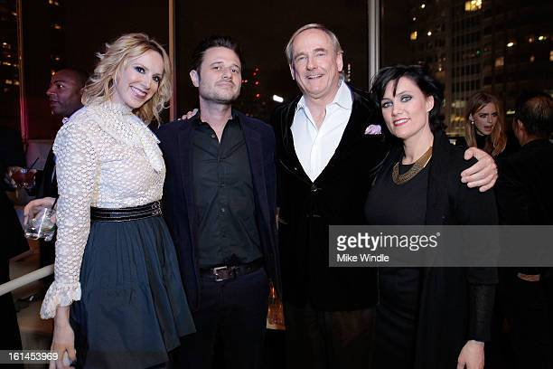 Los Angeles Confidential Publisher Alison Miller Cole Sternberg and Stephen Maguire attend Los Angeles Confidential Magazine and Mary J Blige...