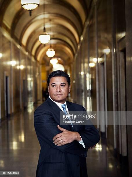 Los Angeles Councilmember Jose Huizar for Los Angeles Confidential on August 4 2014 in Los Angeles California