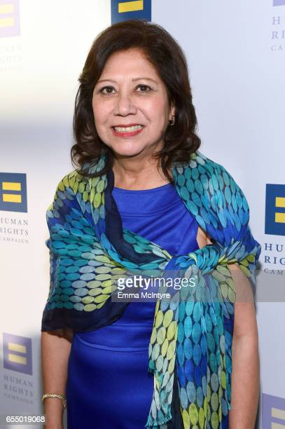 Los Angeles County Board of Supervisors member Hilda Solis at The Human Rights Campaign 2017 Los Angeles Gala Dinner at JW Marriott Los Angeles at LA...