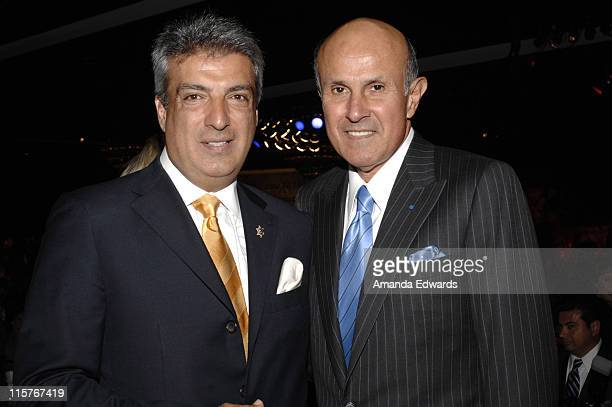 "Los Angeles County Sheriff Lee Baca and John Kazanjian attend the Sheriff Baca Foundation's 23rd Annual ""Salute to Youth"" Venetian Masquerade Dinner..."