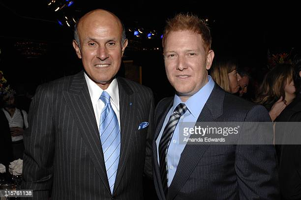 Los Angeles County Sheriff Lee Baca and Ryan Kavanaugh attend the Sheriff Baca Foundation's 23rd Annual Salute to Youth Venetian Masquerade Dinner...