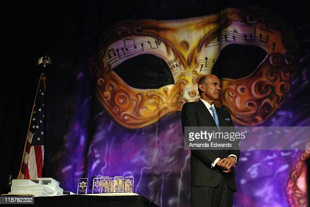 "Los Angeles County Sheriff Lee Baca attends the Sheriff Baca Foundation's 23rd Annual ""Salute to Youth"" Venetian Masquerade Dinner honoring Ryan..."