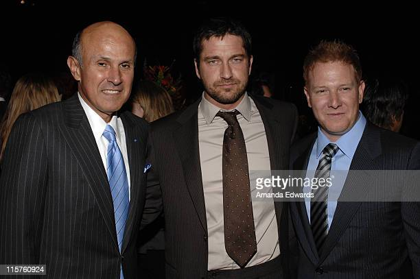 "Los Angeles County Sheriff Lee Baca, Gerard Butler and Ryan Kavanaugh attend the Sheriff Baca Foundation's 23rd Annual ""Salute to Youth"" Venetian..."