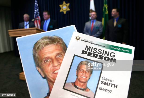 Los Angeles County Sheriff's LtDave Dolson holds a press conference at the Sheriff's Department headquarters in Monterey Park regarding the discovery...