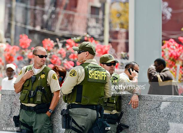 los angeles county sheriffs, may day - sheriff stock pictures, royalty-free photos & images