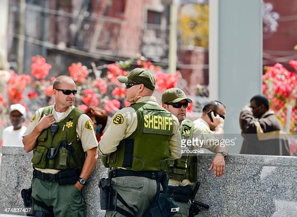 ロサンゼルスカウンティ sheriffs 、5 月 1 日 - 保安官 ストックフォトと画像