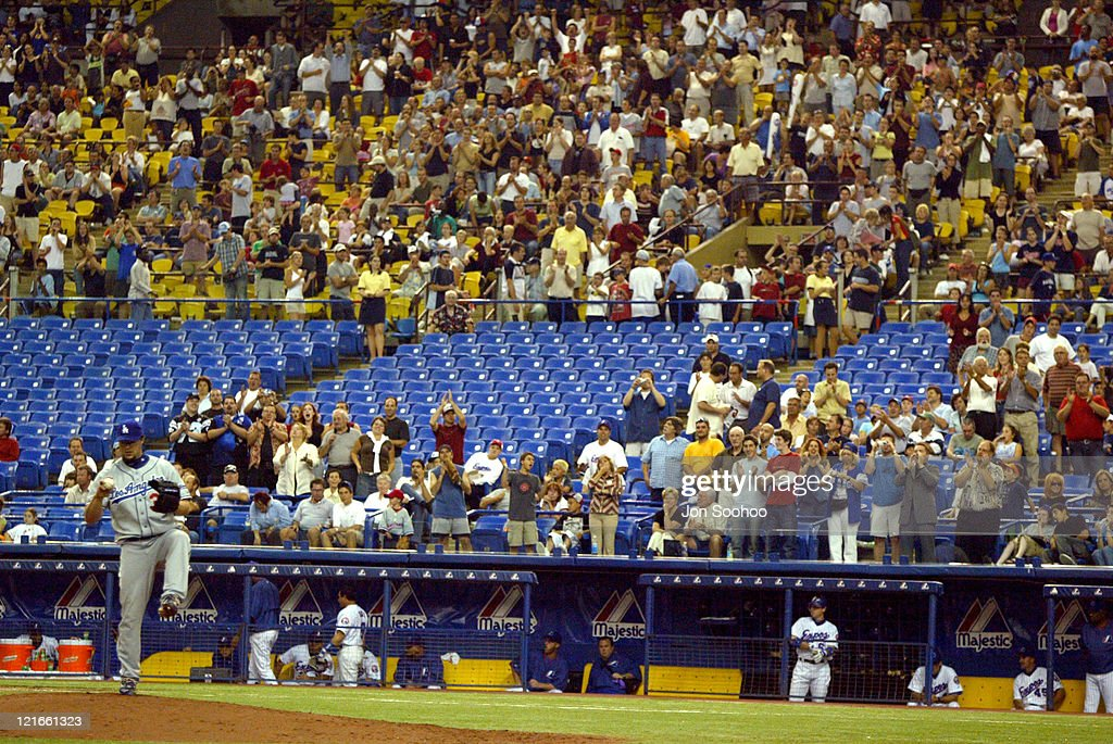 Los Angeles Dodgers vs Montreal Expos - August 26, 2004