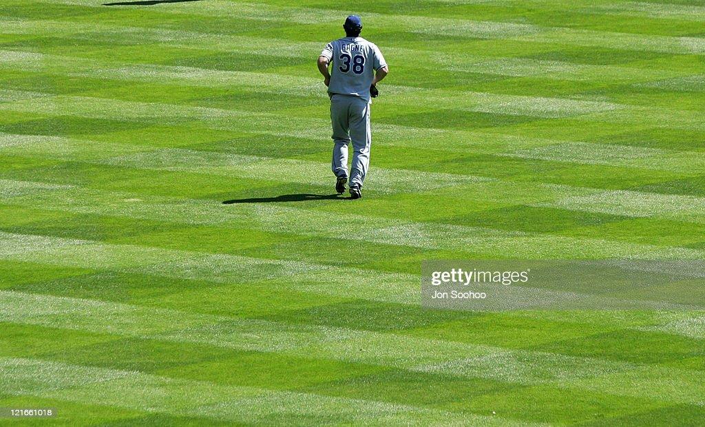 Los Angeles Dodgers vs Colorado Rockies - July 29, 2004