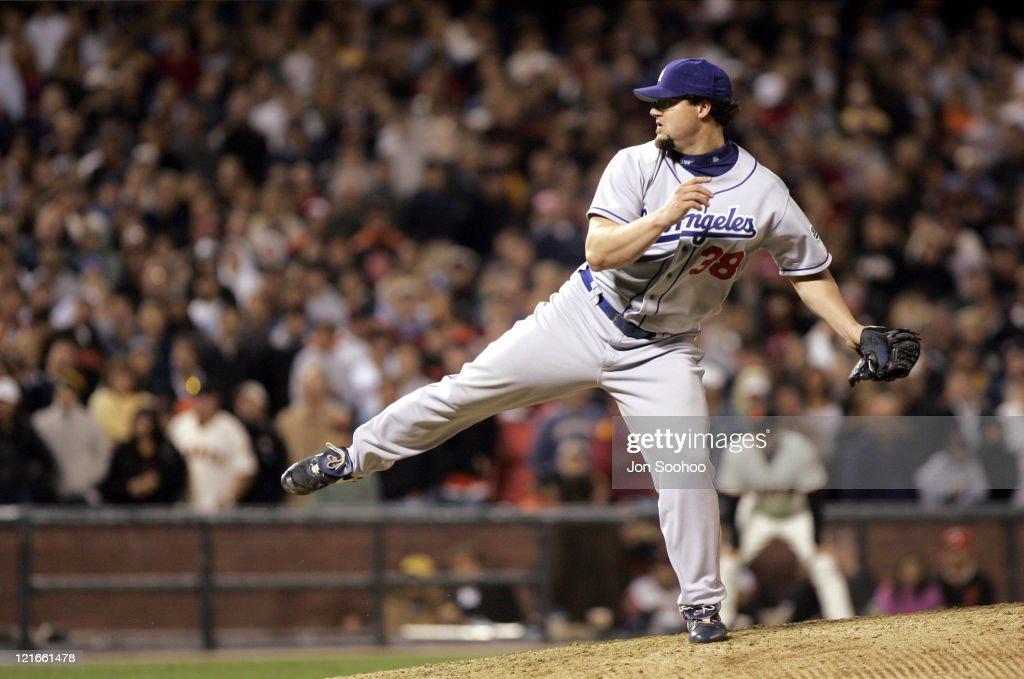 Los Angeles Dodgers vs San Francisco Giants - September 24, 2004