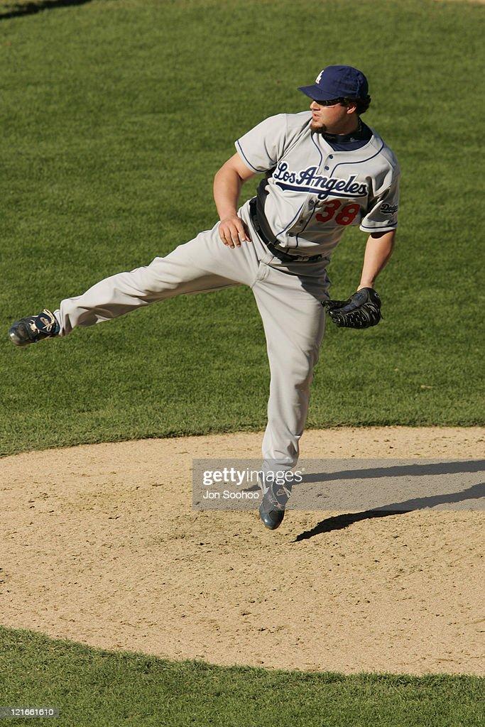 Los Dodgers Angeles vs San Francisco Giants - September 26, 2004