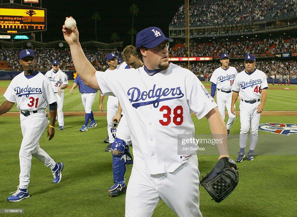 St. Louis Cardinals vs Los Angeles Dodgers - September 11, 2004