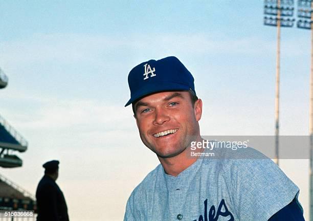 Los Angeles Dodgers, infielder, Jim Legebvre, May 23, 1967.
