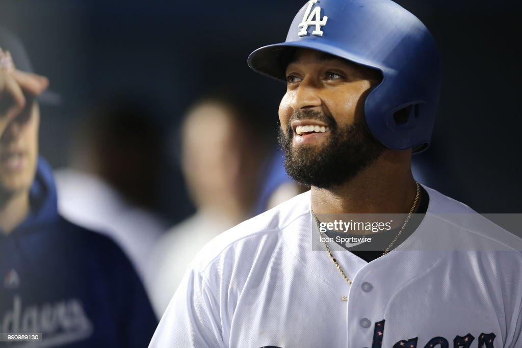 MLB: JUL 02 Pirates at Dodgers : News Photo